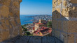 Quadro Neapel – Stadtansicht vom Castel Sant'Elmo