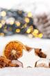 Leinwandbild Motiv Weihnachten Plätzchen Weihnachtsplätzchen Gebäck Zimt Zimtstern Hochformat Textfreiraum Copyspace Dekoration