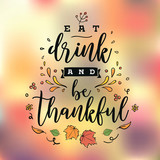 Happy Thanksgiving day typography. - 231534040