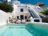 Villa avec piscine à Santorin