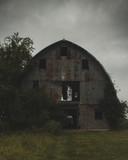 old rusty barn - 231548093