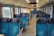 Leinwanddruck Bild - Passenger Train interior