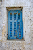 Greek Island wooden shutter