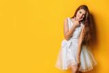 fashionable bright girl - 231558833