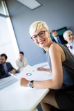Meeting business corporate success brainstorming teamwork office concept - 231637870
