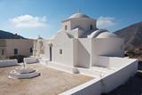 Church in Olympos on Karpathos in Greece