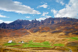 Mt. Hraundrangi in Oxnadalur and Horgardalur Valleys in North Iceland - 231645459