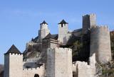 stone walls and towers Golubac fortress landmark Serbia - 231645468