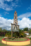 Manaca Iznaga Tower and bell in Valley of the Sugar Mills