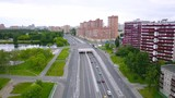 Aerial panoramic view of Moscow Russia in summer day - 231659030