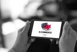 E-commerce concept on a smartphone - 231659478