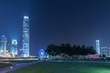 Skyline of Hong Kong city at night - 231681015