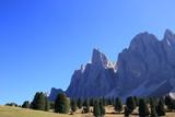 Felswände der Dolomiten