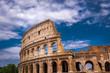 Rome Colosseum Architecture in Rome City Center