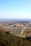 Panshan mountain scenic spot vertical view - 231690466