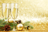 Champagne and  decorations - 231695455