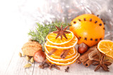 christmas decoration spices