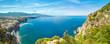 Quadro Sorrento and Gulf of Naples - popular tourist destination in Italy