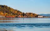 Kjerringvik village. Norwegian landscape - 231718002