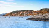 Hommelvik, coastal village in Norway - 231718077