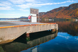 Concrete pier with Lifebuoy in Norway - 231718081