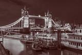 London - The Tower bridge at night.