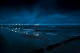 bay of pomerania, baltic sea at night, usedom, germany - 231734485