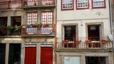 residencial area of porto with traditional houses - 231738206
