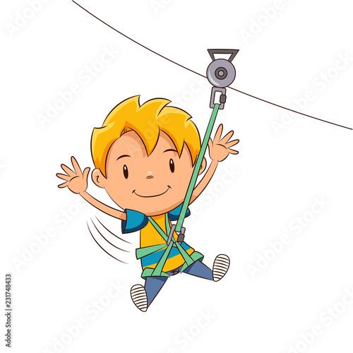 Kid ziplining tour - 231748433