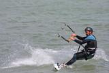 kitesurfer riding board - 231760802