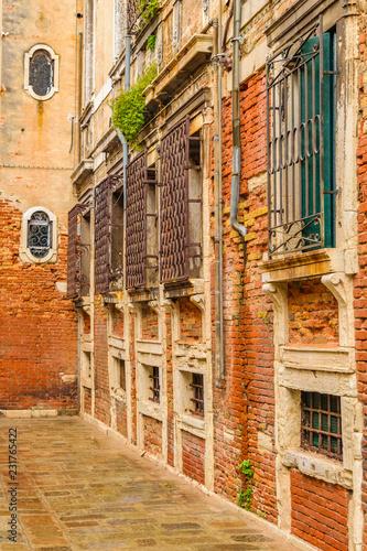 Empty Street, Venice, Italy - 231765422