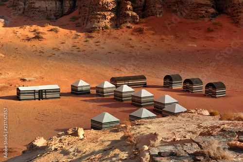 Tents  Camp on Wadi Rum - 231767857