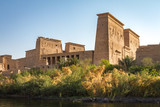 View oftThe Temple of Isis at Philae, taken from the Nile River