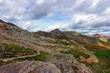 American Basin, Headed up Handies Peak, Colorado Rocky Mountains - 231774870