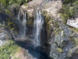 Minyon Falls near Byron bay Australia, over 100m tall