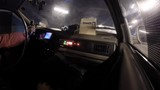 Time lapse of a taxi ride in Shanghai, China at night. - 231790697