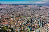 Bogota Skyline cityscape  capital city of Colombia South America - 231802002