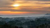 Morning Sun at Mt Merapi