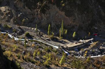Issyk canyon. Kazakhstan