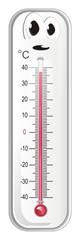 thermometer, degree, temperature, weather, celsius, scale, medicine, hydrometeorological center, face, hot, surprise © Djessi85