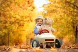 Herbstausflug mit dem Teddy - 231822829