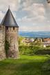 Carcassonne, France, The fortified city - Cité de Carcassonne - details