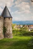 Carcassonne, France, The fortified city - Cité de Carcassonne - details - 231823621