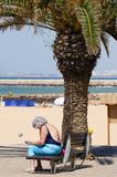 plage vacances vieux seniors age pension - 231831490