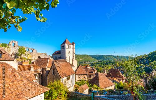 Saint Cirq laponie, Occitanie en France