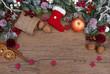 Leinwandbild Motiv Weihnachtshintergrund