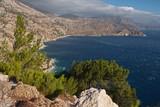 The east coast of Karpathos in Greece - 231836815