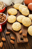 Homemade almond cookies - 231837834