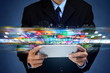 Internet multimedia broadband and multimedia data streaming