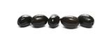 Black olives isolated on white background © dule964